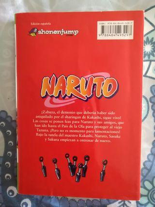 Libro Naruto n° 3. Cómic manga-anime.