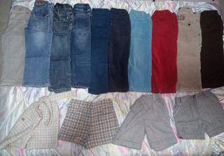 Lote entero de ropa 2-3 casi nueva por 40.
