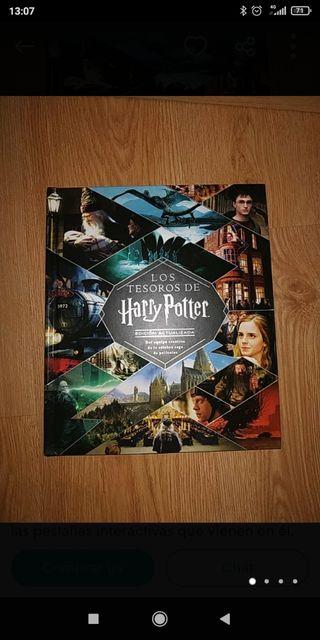 libro los tesoros de Harry Potter