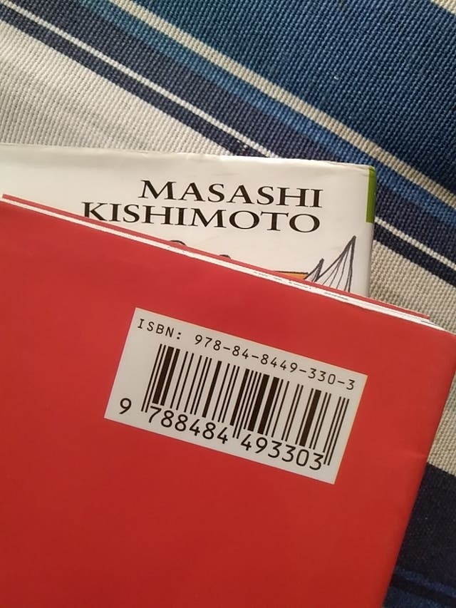 Libros Naruto n° 4 y 5. Cómic manga-anime.