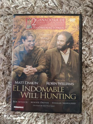 El indomable William Hunting dvd
