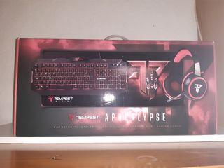 Combo Tempest Apocalypse Gaming todo nuevo por 50€
