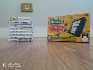 Pack Nintendo 2DS Azul