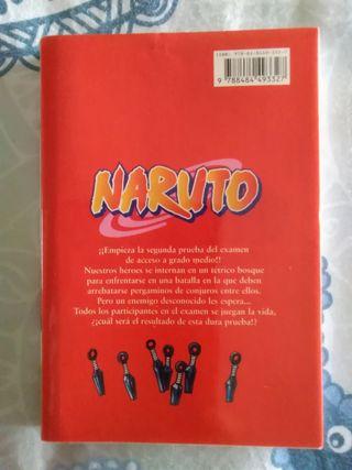 Libro Naruto n° 6. Cómic manga-anime.
