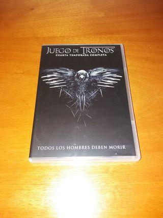 DVD Juego de tronos. Temporada 4