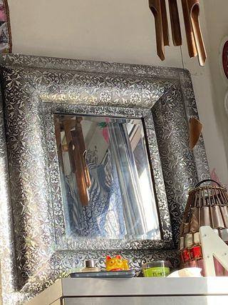 Espejo en plata