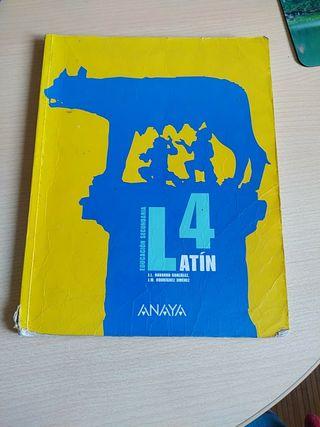Libro latín 4°ESO.