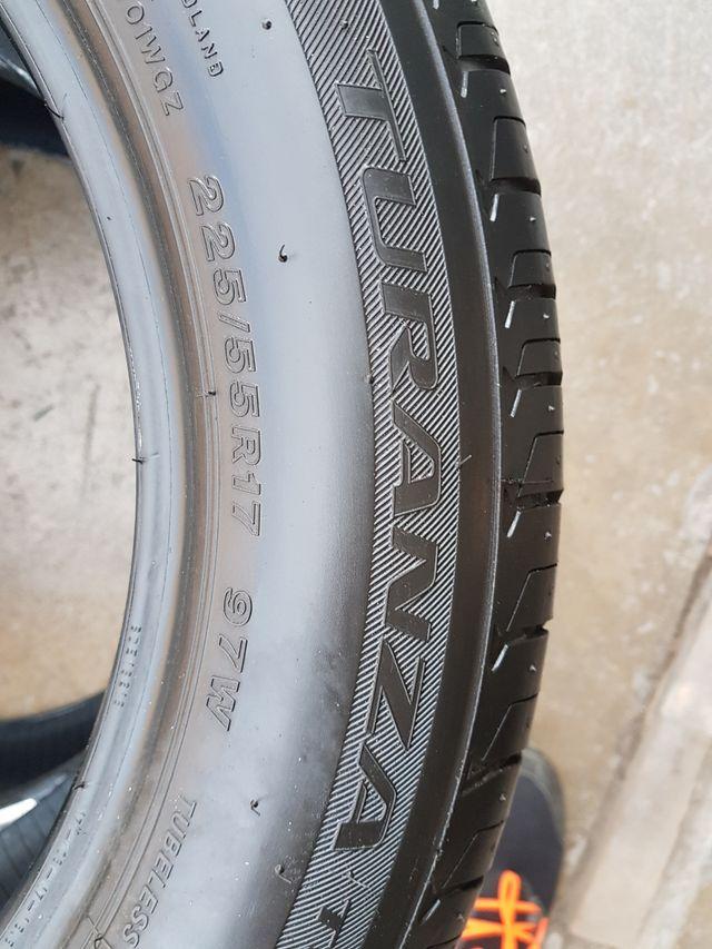 Neumáticos 225 55 17 Bridgestone Runflat