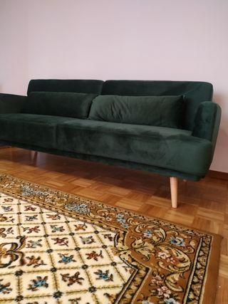 Sofá Maison du Monde Terciopelo Esmeralda