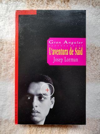 Libro en catalán 'L'aventura de Saïd' de J.Lorman