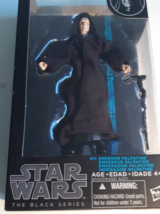 STAR WARS BLACK SERIES PALPATINE