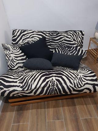 futón sofá-cama nuevo