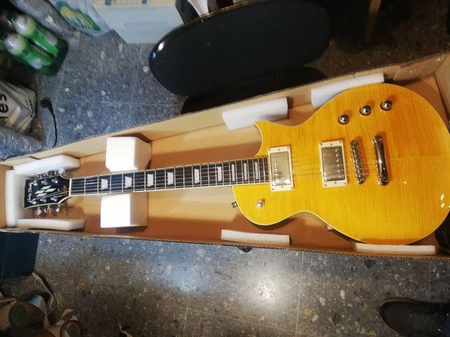 guitarra eléctrica harley benton sc custom del2020