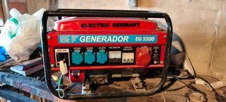 generador eléctrico 5500w eléctric germany