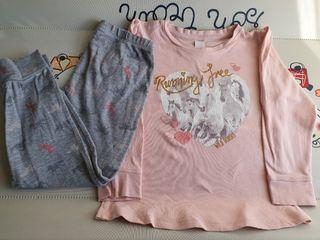 pijama niña talla 4-6.