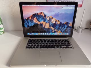MacBook Pro 15' mediados 2012