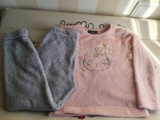 pijama niña talla 4 _6 años.