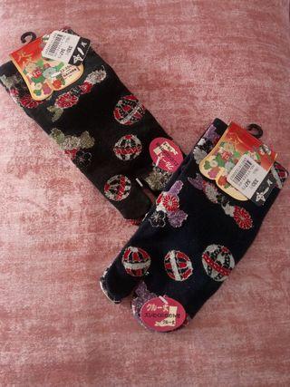 Pareja de calcetines japoneses sin estrenar