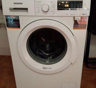 Lavadora Siemens iQdrive 8kg