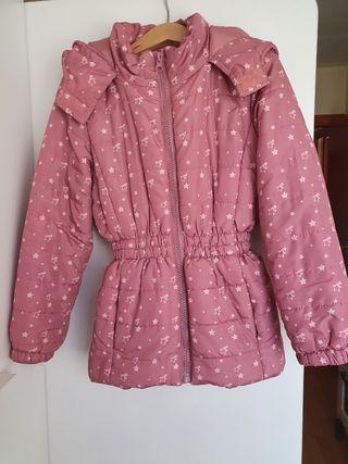 chaqueta niña 3-4 pero talla grande hasta 5años.