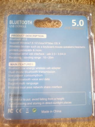 Dongle Usb 5,0 Bluetooth