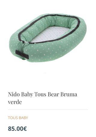 Nido bebé tous bear bruma verde