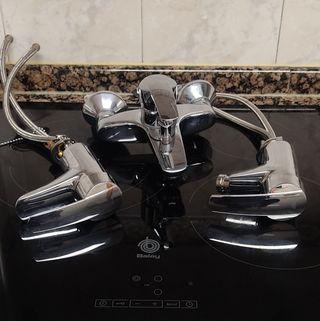 Grifos GROHE lavabo, bañera y bidé