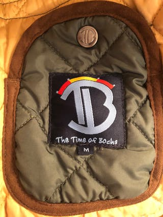 """Parka tipo barbour """"The time of Bocha"""""""