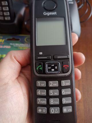 Teléfono fijo DUO Gigaset A420