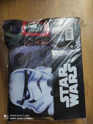 juego de cojín + manta de star wars Disney solo 7€