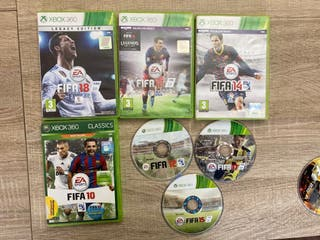 Fifa 18 - 17 - 16 - 15 - 14 - 12 - 10 Xbox360