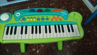 Órgano musical con pie