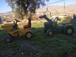 tractor de juguete a pedales