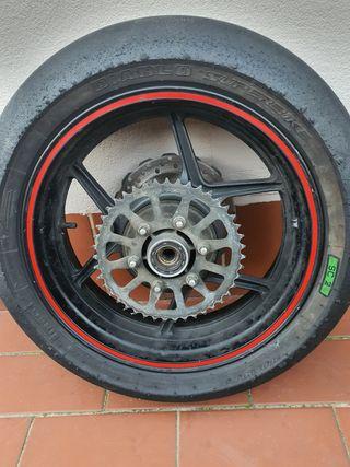 rueda completa kawasaki z750