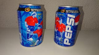Latas Pepsi Cola selección española año 2000