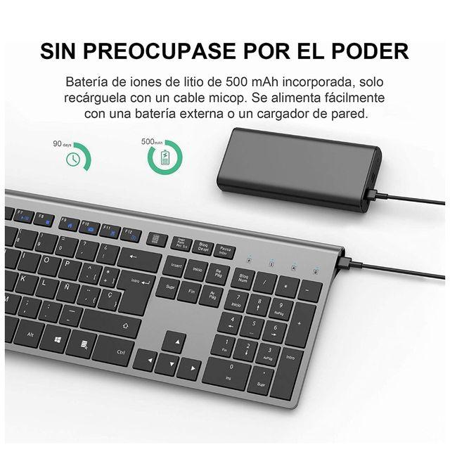 Teclado inalámbrico Windows con batería NUEVO