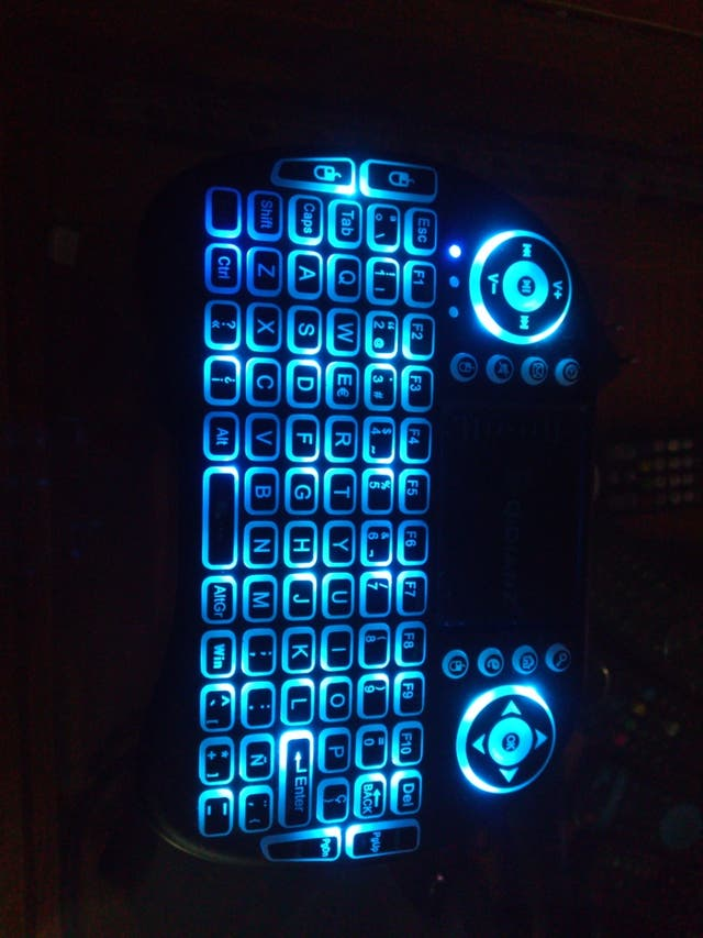 mando teclado, para smart tv o android box etc