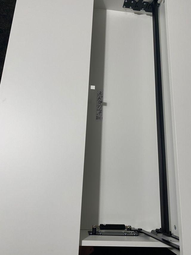Mesa ikea trulstorp elevable de centro blanca
