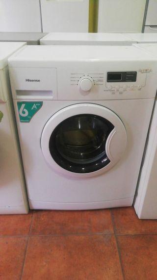 lavadora 6 kilos HISENSE