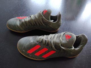 Playeras fútbol sala niño Adidas