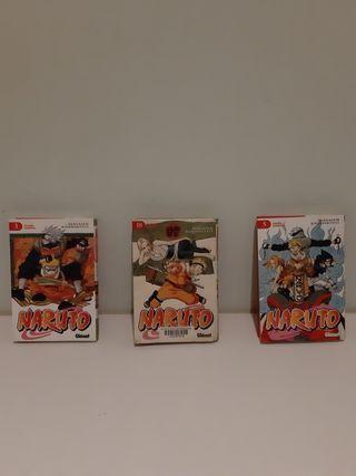 Manga naruto ediciones 3,5 y 18