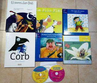 6 libros 5 años catalán