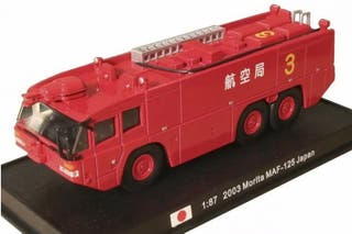 Precioso camión de bomberos japonés MORITA 1:87