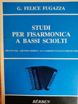 Studi per fisarmonica a bassi sciolta. F. Fugazza