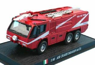Precioso camión de bomberos italiano AIR CRASH 1:8