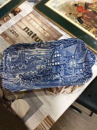 Bandeja porcelana enochwedgood 20 cm