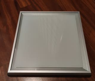 Plafón LED cuadrado para techo