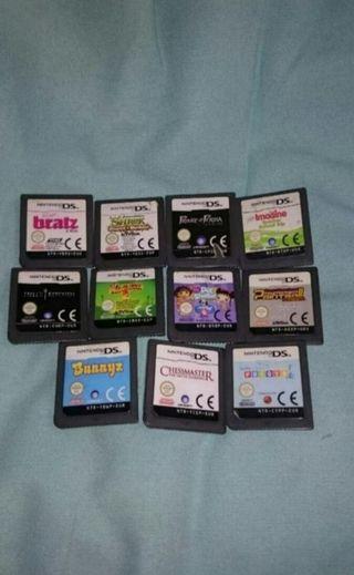 11 Juegos para Nintendo DS, Lite ....