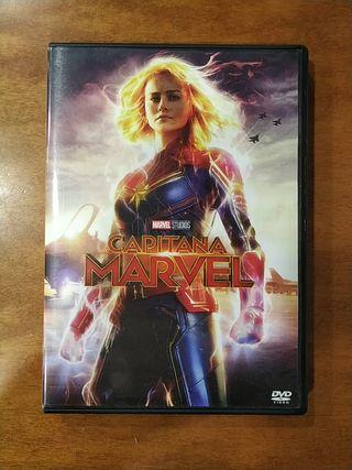 PELÍCULA DVD CAPITANA MARVEL