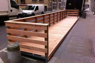 Tarima terraza madera interior exterior